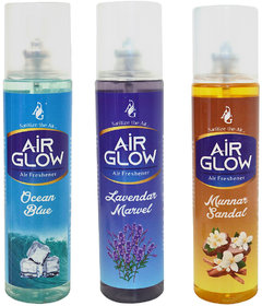 Combo Of 3 Air Fresheners For Car and Room
