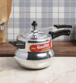 Gasfitt Handiya Aluminium 3.5 Ltr. Pressure Cooker-Inner Lid
