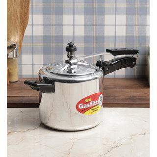 Gasfitt Classic Aluminium 3 Ltr. Pressure Cooker-Inner Lid