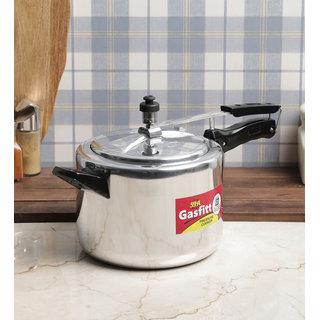 Gasfitt Classic Aluminium 5 Ltr. Pressure Cooker-Inner Lid