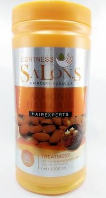 Buy Lightness Salon Hair Treatment Hair Mask With Almond Oil 1 Kg Online Get 40 Off