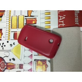 pretty nice 5f6d2 921a5 Buy Silicon Soft Back Cover Case For Sony Xperia Tipo ST21i / ST21i2 ...