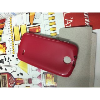 buy online 01422 1ffb5 Buy Silicon Soft Back Cover Case For HTC DESIRE 310 ( RED color ...