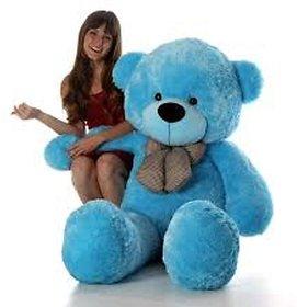 teddy bear 5 ft blue