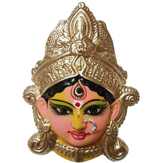 ESVAR Durga JI Terracotta Wall Hanging Idol.