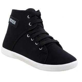 Bersache Women Black 1207 Casual,Sneaker,Loafer,Sports,Boots,Shoes