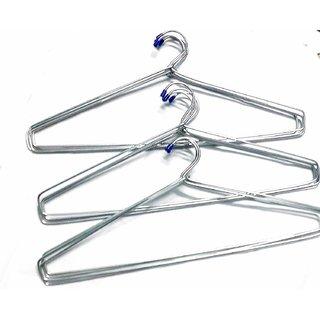 Ivaan Steel Cloth Hanger (Heavy) - Pack of 12