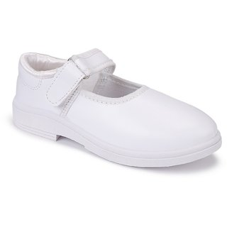 Bersache kids (Girls) white 1209 school shoes