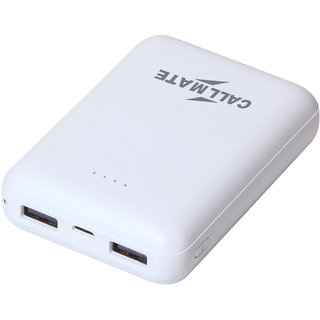 CallMate Y26 Power Bank 13000 mAH with 2 USB Port and LED Battery Indicator