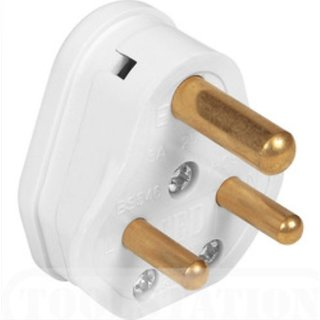 Combo 3 pin plug (set of 2)