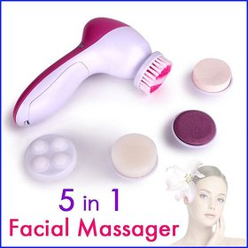 AMAFHH 5 in 1 face massager Face Machine Facial Pore Cleaner Body Cleaning Massager