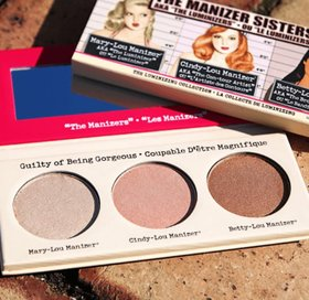 The Balm Manizer Sister Face Highlighter Palette Imported Brand High Quality Product