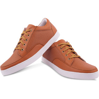 Aishwary Glams Men Brown sneaker Casual Shoes