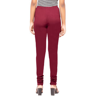 Facctum Wears, Women's Leggins - Maroon Red(Size - S)
