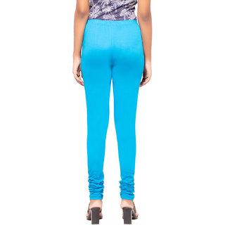 Facctum Wears, Women's Leggins - Turquoise(Size - S)