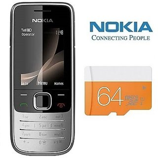 Refurbished Nokia 2700 64GB Memory Card Certified Pre Owned (1 Year Warranty) Feature Phones