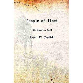 People of Tibet 1928 [Hardcover]