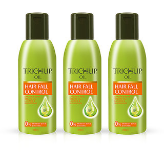 Trichup Ayurvedic Hair Fall Control Oil Combo Pack 3x200ml