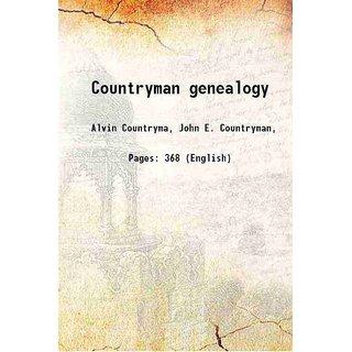 Countryman genealogy 1925