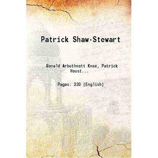 Patrick Shaw-Stewart 1920