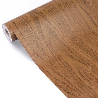Jaamso Royals Wood Grain Multioclor Contact Paper Vinyl Self Adhesive Art and Craft Decal 1 pc(100X45 CM i.e 4.5 Sq FT)