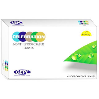 Celebration Lenseminus0.25 Monthly Disposable Spherical Contact Lenses