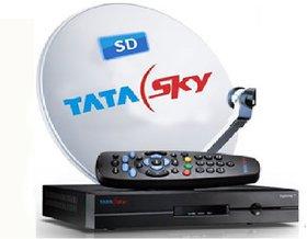 TATAsky SD BOX - Hindi Basic Pack(All india)