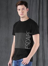 Axxitude Escape Half Sleeves Cotton Round Neck T-shirt
