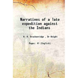 Narratives of a late expedition against the Indians 1782