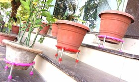 Matka Stand Plant Pot Stand Set PACK OF 6 Pcs
