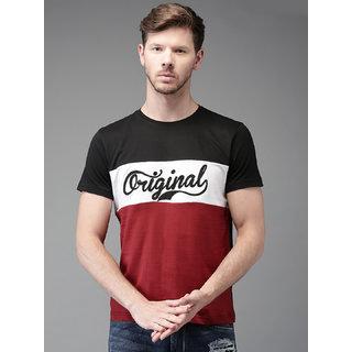 Axxitude Original Half Sleeves Cotton T-shirt