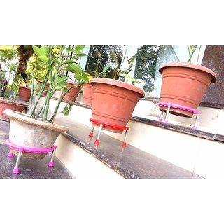 Matka Stand Plant Pot Stand Set PACK OF 6 Pcs