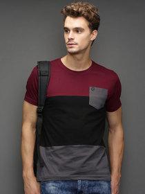 Axxitude Men's Multicolor Round Neck T-Shirt
