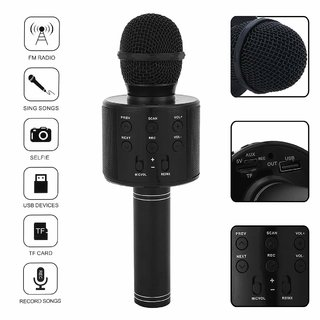 Zenith Wireless  WS-858 Karaoke Microphone MIC For Singing Recording Handheld Mike Portable Speaker