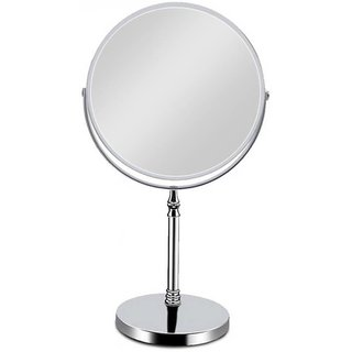 Kurvz makeup and Shaving Mirror With Stand For Wall Mounted / Double Sided Magnifying Mirror