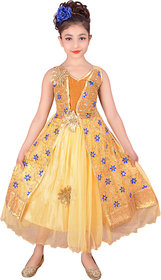 A&A FASHION Festive and party wear full length party wear dress