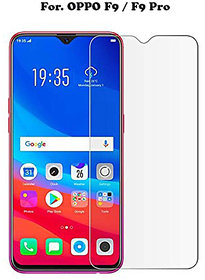 OPPO F9 / F9 Pro  Flexible Premium Quality 2.5D Tempered Glass 9H Hardness Screen Protector for OPPO F9 / OPPO F9 PRO.