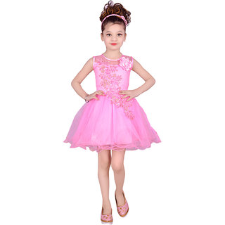 Meia for girls Round Neck Party Wear Frock