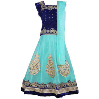 A&A Fashion party wear lahnga choli with dupatta set