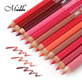 MN MeNow True Lips Set of 12 Creamy Lip Liner Pencils