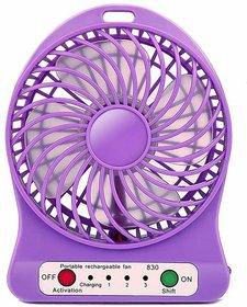 55High Speed Portable fan rechargeable USB Ventilator Desk table Mini Fan (Assorted Colors)