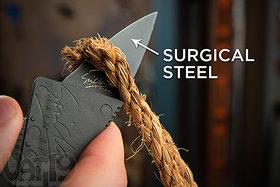 Survival Tool Credit Card Shaped Folding Safety Knife   portable knife   pocket knife   Camping wallet knife