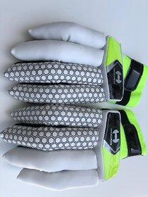 new grey hound Cricket Batting Gloves Mens Right (Color May Vary)