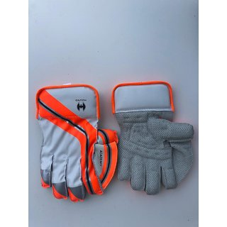 New grey Hound Cricket Wicket Keeping Gloves Mens (Black STWG20)