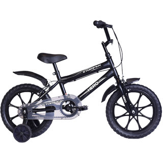 Hero Stomper 16T Black 40.64 cm(16) Road bike Bicycle