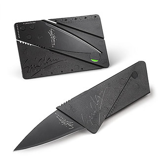 Right Traders Outdoor Multi Function Mini Emergency Survival Credit Card Knife camping Tool