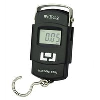 Weighing Scale Digital Heavy Duty Portable, Hook Type with Temp, 50Kg