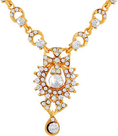 MFJ Fashion Jewellery Designer Collection long lasting Gold Plated Necklace Set For Women