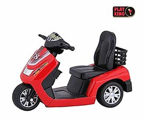 Jain Gift Gallery Die Cast Metal  Pull Back Action Turbo Scooter, Pack of 1, Color May Vary