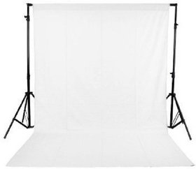 Cam Cart  8 x12 FT White LEKERA Backdrop Photo Light Studio Photography Background ( Stand Not Included )
